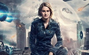 Picture poster, Shailene Woodley, Chapter 3: Behind the wall, The Divergent Series: Allegiant, Shailene Woodley, Divergent, ...