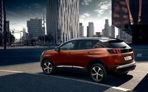 Wallpaper Peugeot, 3008, crossover, Peugeot