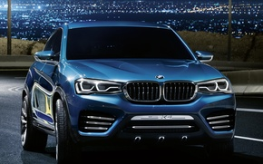 Picture Concept, lights, BMW, BMW, the front, powerful