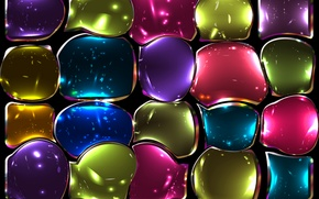 Picture glass, mosaic, colors, colorful, abstract, stained glass, background, mosaic, tiles, stained glass