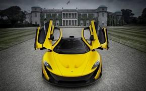 Picture McLaren, Yellow, Supercar
