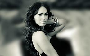 Picture look, girl, model, megan fox, Megan Fox
