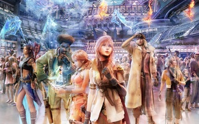 Picture Anime, Final Fantasy, Full colors