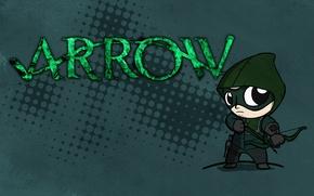 Picture combat, Archer, comic, character, shooter, emerald, DC Comics, minimalism., green arrow, the universe, green arrow