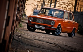 Picture red, classic, VAZ, 2101