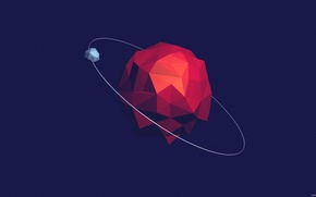 Picture background, satellite, Vector, Planet, Abstraction