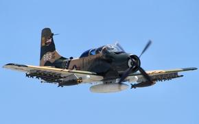 "Picture flight, attack, ""Skyraider"", A-1 Skyraider"
