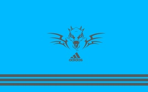 Wallpaper icon, Adidas, adidas, firm