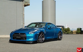 Picture GTR, Nissan, Tuning, Wheels, Skipper, VFS1, 20 Vossen