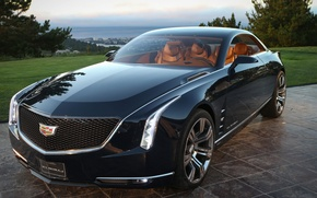Picture Cadillac, coupe, luxury, Elmira escb