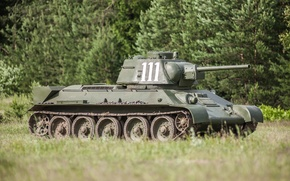 Picture tank, T-34, collection, WWII, design, equipment, international, the difference, Soviet, average, WW2, armed, tank, private, …