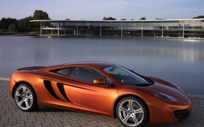 Picture machine, auto, Wallpaper, McLaren, pool, MP4-12C, McLaren