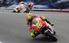 Picture Sport, Race, Asphalt, Day, Motorcycle, Ducati, MotoGP, Two