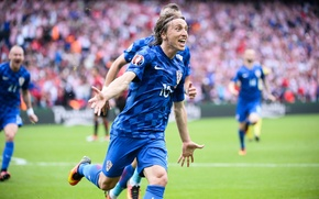 Picture football, Croatia, football, Luka Modric, European Championship 2016