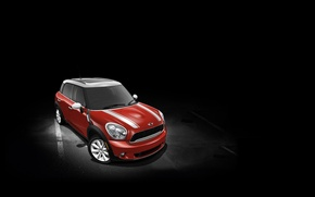 Picture Red, Auto, Countryman, Figure, Red, Mini Cooper, MINI, Mini Cooper