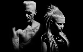 Wallpaper black, Visser Was Yolan, die antwoord, watkin tudor jones