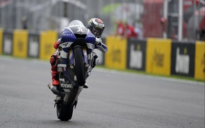 Picture Photo, Race, Motorcycle, Racer, Track, Monster, Yamaha, Victory, MotoGP, Team, Scores, YZR-M1, Yamaha, Tech 3, …
