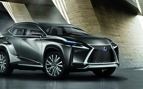 Picture Concept, Lexus, Crossover, LF-NX