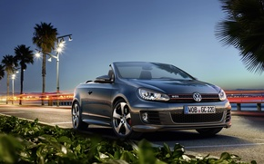 Wallpaper Golf, Volkswagen, GTI, Volkswagen, convertible