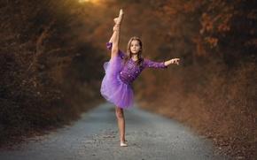 Picture dance, girl, ballerina