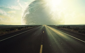 Picture road, the way, the world, planet, stranger, video