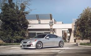 Picture tuning, Hyundai, Coupe, stance, Genesis, Hyundai