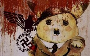 Wallpaper Pikachu, Adolf, Kawai