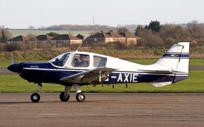 Picture easy, the plane, British, Beagle, B. 121 Puppy