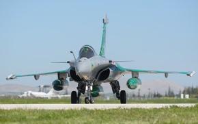 Wallpaper fighter, the airfield, multipurpose, Dassault, Rafale C