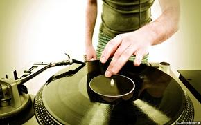 Picture music, disco, vinyl