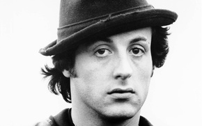 Picture hat, actor, Sylvester Stallone, rocky