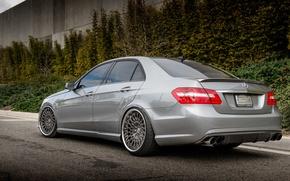 Picture grey, Mercedes, E-class, Mercedes, E350
