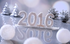 Picture snow, New Year, New Year, Happy, 2016