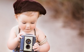 Picture background, mood, camera, boy