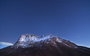 Picture the sky, stars, snow, Italy, sky, Italy, snow, stars, Macerata, Macerata, Monte Bove, Monte Bove