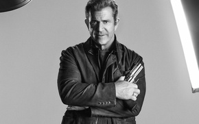 Picture Mel Gibson, Mel Gibson, The Expendables 3, The expendables 3, Conrad Stonebanks
