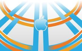 Picture computer, apple, Apple, phone, laptop, emblem, gadget