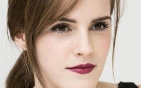 Picture portrait, actress, Emma Watson, Emma Watson