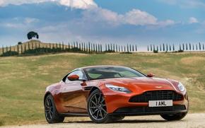 Picture machine, auto, the sky, Aston Martin, Aston Martin, the front, DB11