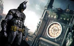 Picture the city, watch, Batman, DC Comics