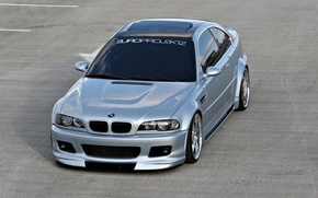 Wallpaper asphalt, BMW, car