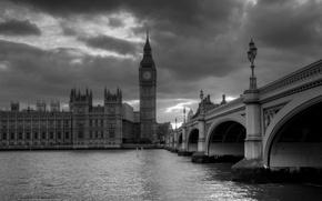 Wallpaper London, bridge, bigben