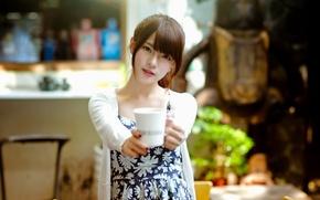 Picture look, girl, portrait, mug
