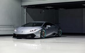Picture Lamborghini, Vorsteiner, with, Kit, Huracan, Novara, HRE S201's