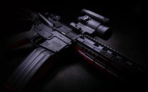 Picture weapons, optics, twilight, shop, carabiner, hd wallpaper, Larue Tactical