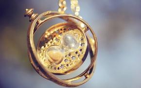 Picture macro, pendant, decoration, hourglass