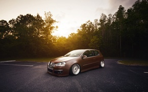 Picture golf, stance, mk5, Volkswagtn, fronte