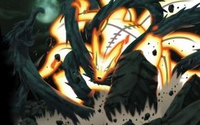 Picture battle, manga, naruto, Kurama