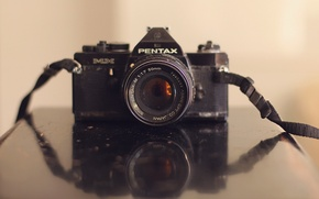 Picture background, camera, Pentax