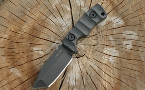 Wallpaper bolts, tree, slice, knife, coating, steel, s30v, Micarta, SRM